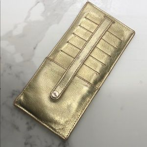 Abas Gold Double Sided Card Holder